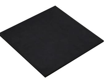 """12"""" x 12"""" x 1/4"""" Non-Marring Rubber Mat Jewelry Repair Stamping Hammering Metal Forming Work Surface Tool - FORM-0127"""