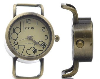 Watch face with Pile accessory 3.7 cm x 26 mm