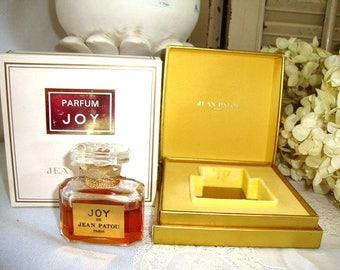 1970's JOY Jean Patou 1/2 oz 15 mI Perfume Boxed Old Formula