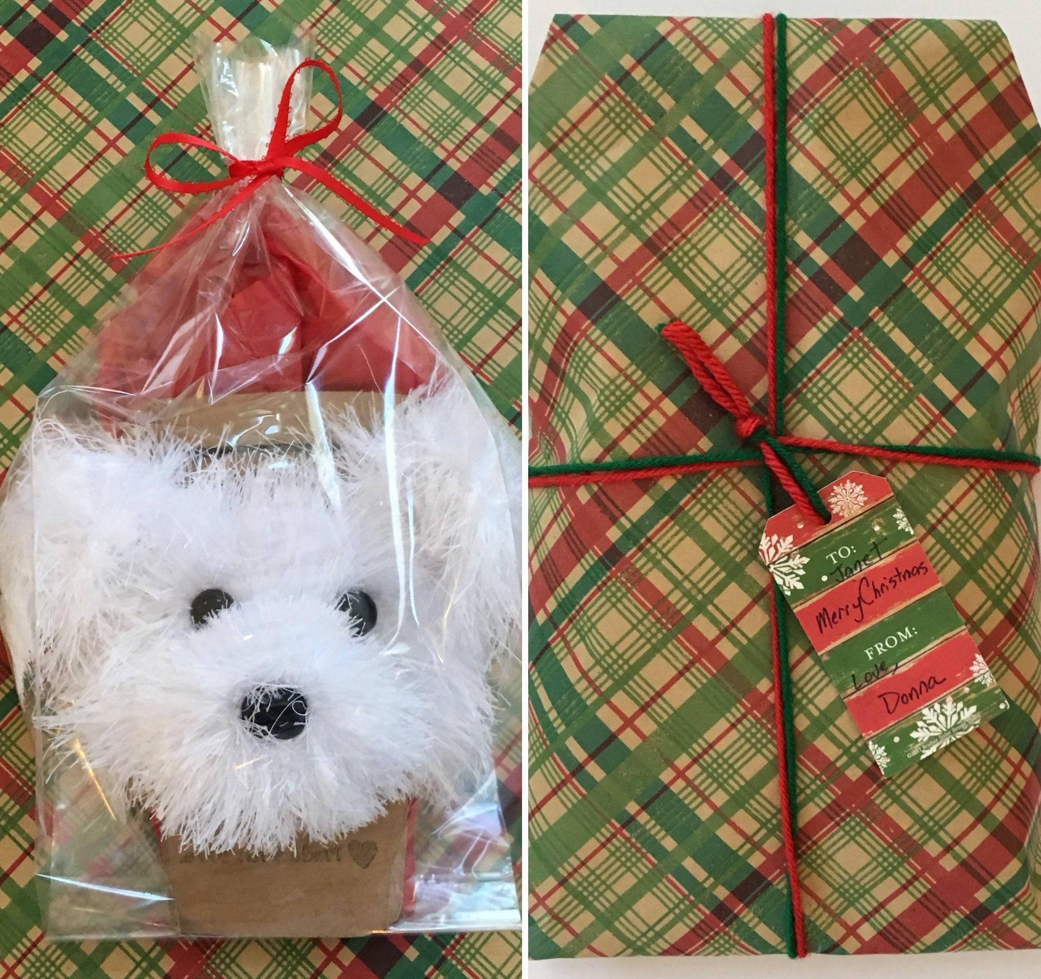 Hund-Geschenk-Ideen Hund Schal Hund Weihnachten