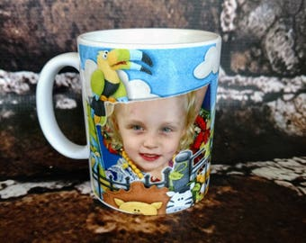 Custom coffee cup.  You pick design  11oz and 15oz  Personalized