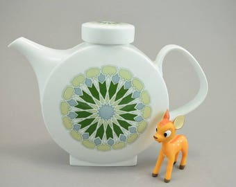 Mid Century Melitta Budapest  coffee pot / tea pot, Germany, 60s, Design Axel Wolfgang Werner, 1960