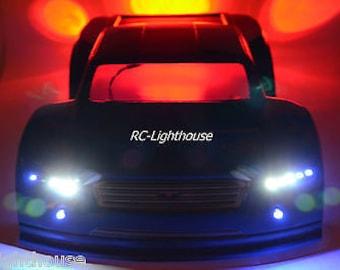 RC LED Light Set for Traxxas Slash or for RC10 SC #54