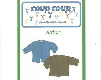 "PATTERN child punch shirt ""Arthur"""