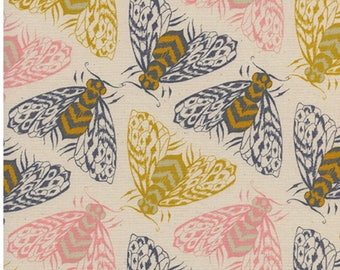 1/2 Yard Magic Forest by Sara Watts for Cotton and Steel- 2055-001 Bees