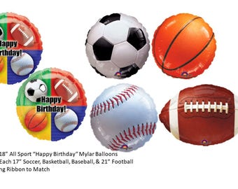 All Sport Balloons, Sports Party Balloons