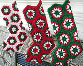 3 Custom Christmas Stockings