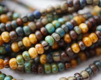 NEW Stock..Picasso Mix, Seed Beads, Seed Beads, Beads