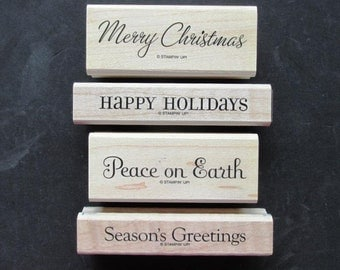 "Stampin' Up! - Retired - ""Four the Holidays"""