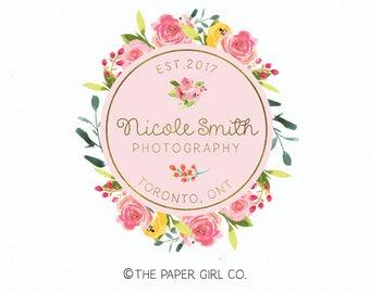 photography logo beauty boutique logo make up artist logo premade logo wedding planner logo event stylist logo jewelry logo flower logo