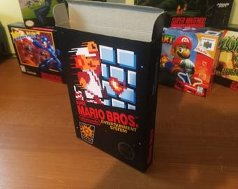Super Mario Bros. NES Nintendo Entertainment System Reproduction Box! Best Repros in the world!