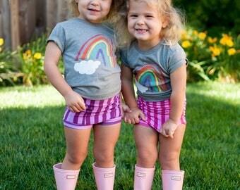 Rainbow Shirt - Rainbow Baby Outfit - Rainbow Birthday Shirt - Rainbow Baby Gift - Toddler Rainbow Shirt