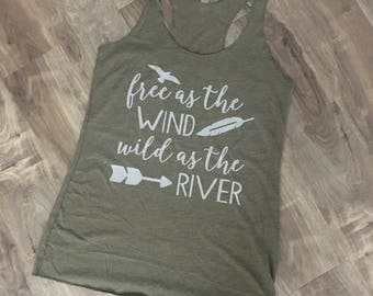 Free as the Wind Tank - ***FREE SHIPPING***
