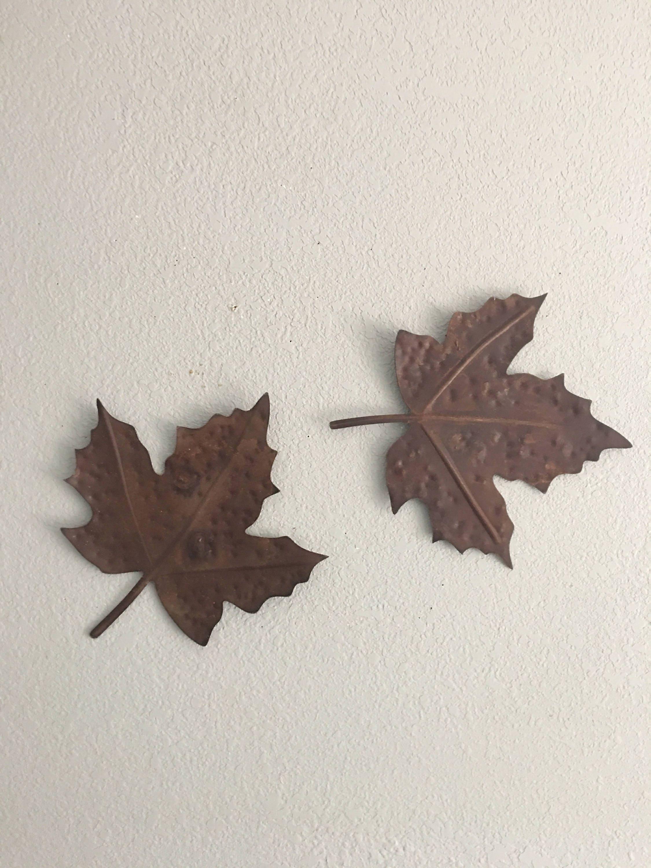 Maple Leaf Pathway Beautiful: Maple Leaf Rustic Leaves Metal Maple Leaves Home