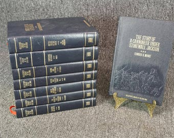 Collector's Library Of The Civil War Set Of 8 Books C. 1983