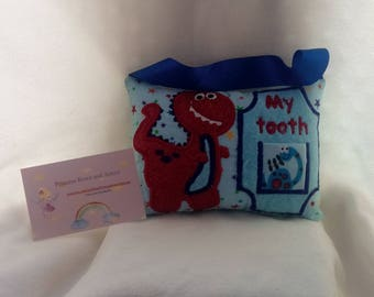 tooth fairy pillow Dino