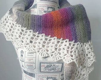 Harvest Shawl | PDF Crochet Pattern