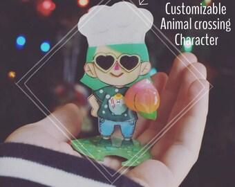 Custom Animal Crossing Character Stand