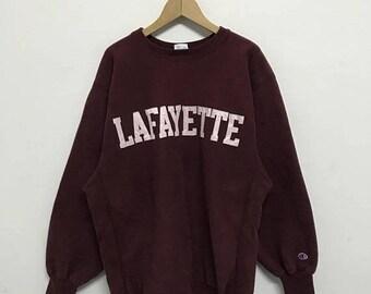 20% OFF Vintage Champion Lafayette Sweatshirt/Champion C Logo/Champion Reverse Weave