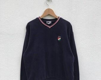 20% OFF Vintage Fila Italia Embroidery Logo Sweatshirt/Fila Sweater/Casual Clothing/Fila Sport Sweater/Fila Italia