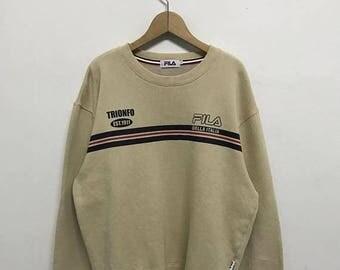 20% OFF Vintage Fila Sweatshirt/Fila Sweater/Casual Clothing/Fila Sport Sweater/Fila Italia
