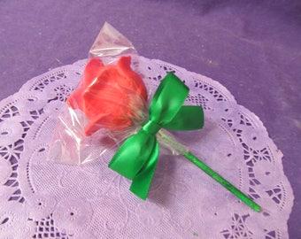 Roses petals cake pops 12