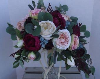 Bridal Bouquets Wedding Bouquet Flowers Artificial Cascade