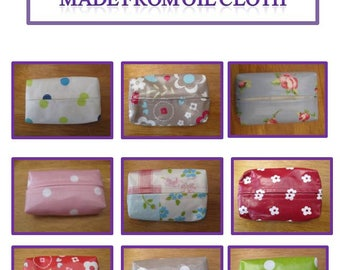 Tissue Covers - Oil Cloth