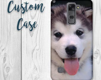 LG Stylo 2 Case / LG Stylus 2 Case Custom Photo Case, Design Your Own Personalized Case, Monogrammed Phone