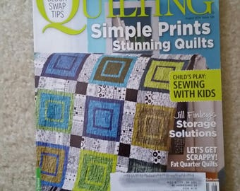 American Patchwork and Quilting Better Homes and Gardens August 2014