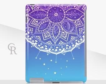 Mandala iPad Case For - iPad 2, iPad 3, iPad 4 and iPad Mini, iPad Air, iPad Air 2, iPad Mini 4 Snap on Case