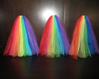 Gay pride veil, rainbow veil, gay pride bachelorette veil, gay pride stagette veil, gay pride hen's night veil