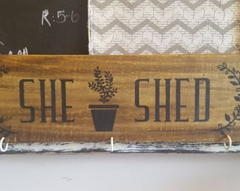 she shed sign, shed sign, man cave sign, craft room sign, workspace sign