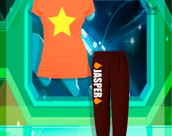Steven Universe-Jasper Pajama Set