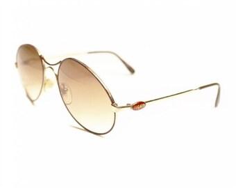 Vintage Bugatti Wire Sunglasses