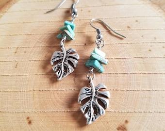 Leaf Earrings, Boho Earrings