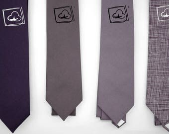 matte cotton muted purple ties,shade purple grey,dusty plum lilac,rhapsody,mulberry,subtle neck ties,groomsmen,men,mauve purple wedding tie