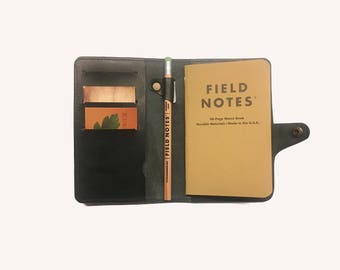 field note wallet cover leather