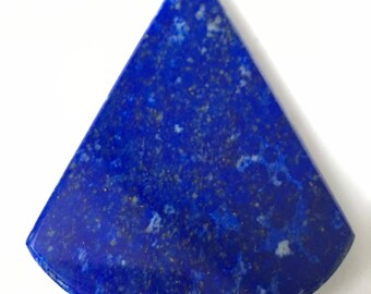 Lapis lazuli cone shaped cabochon