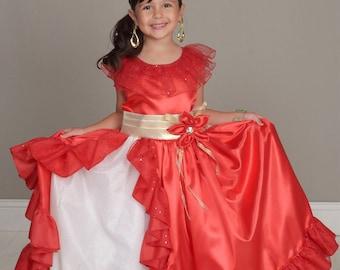 Elena of Avalor, Elena dress, Elena Costume, Elena of avalor costume, Princess Elena of avalor