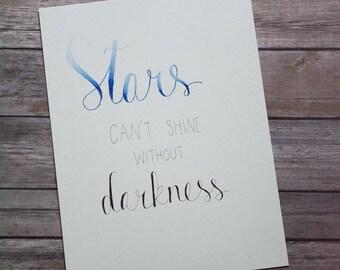 Stars print