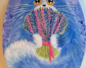 "Cat ""Mister lavender"""