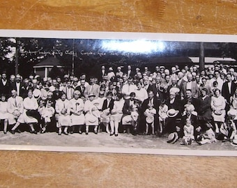 "1927 Stoneham MA Traders Day Outing Canobie Lake Park Photo (8x39"") photograph"