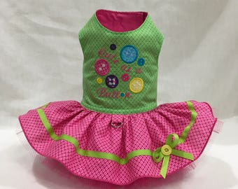 Cute as a botton by Little Paws Boutique