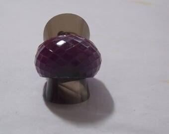resin ring, purple (T55)