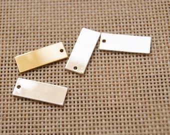 2 color block charm pendant,5*16mm Pendant,DIY Supplies