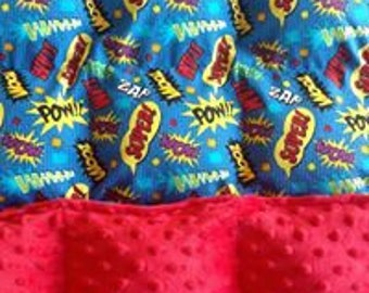 Boys Custom Weighted Blanket - Twin Size