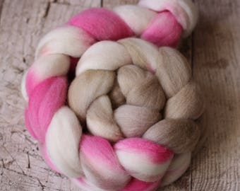 June - Australian Merino Wool Roving (20 micron)