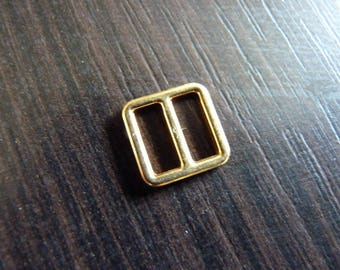 2 ties 8 for strapless bra square Gold 1.1 cm