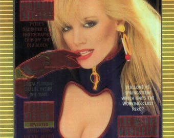 MATURE - Playboy Trading Card Chromium Cover Cards II - #176 April 1986
